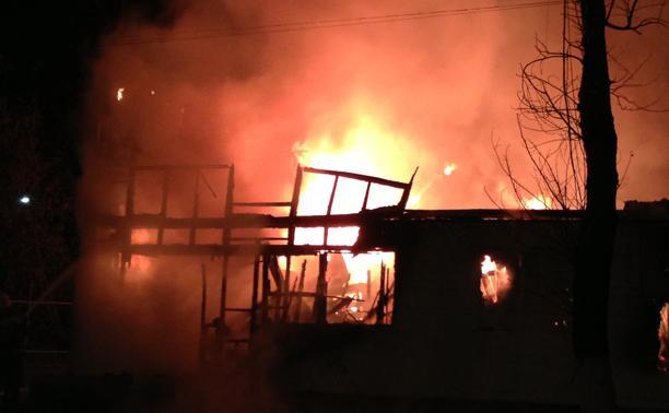 В Тульской области установлен высший класс пожарной опасности