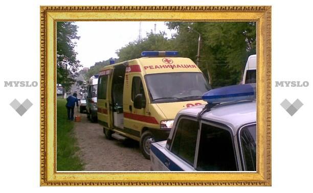 На выезде из Тулы ДТП с участием четырех машин