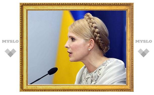 На заседание фракции НУНС пришла Тимошенко