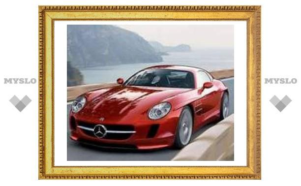 Mercedes покажет преемника 300 SL Gullwing в 2010 году