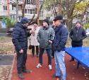 Замглавы администрации Тулы проинспектировал благоустройство дворов