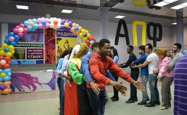 Иностранные студенты отметили в Туле Масленицу