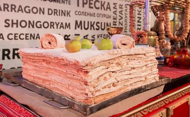 В Милане поставили рекорд планеты по изготовлению самой большой белевской пастилы