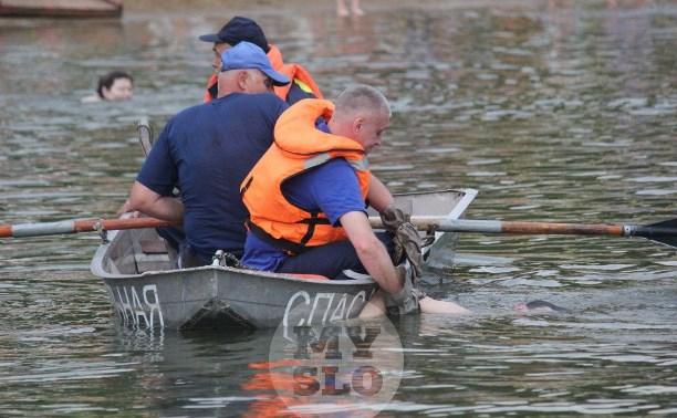 В Туле в пруду Центрального парка утонул подросток
