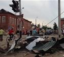 Центр Ефремова похож на место теракта