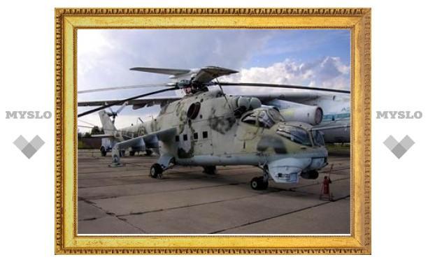 В Приморье разбился вертолет Ми-24