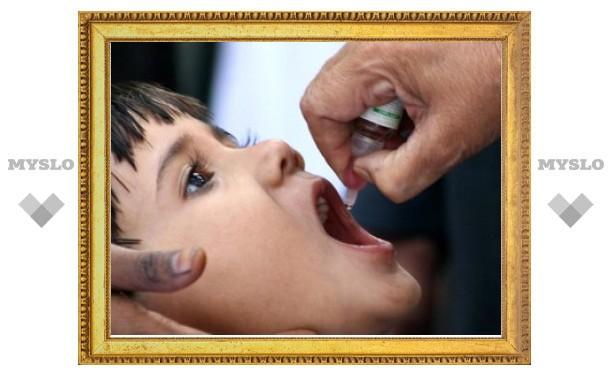 34 тысячи российских детей рискуют заразиться полиомиелитом