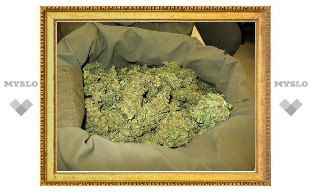 У туляка изъяли два кило марихуаны