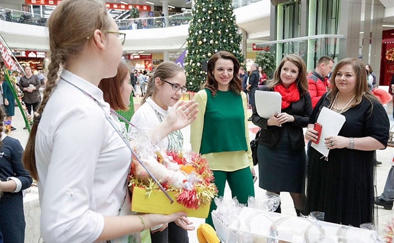 В Туле проходит «Новогодняя ярмарка школьных компаний»
