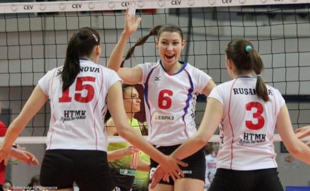 Тульская волейболистка стала призёром чемпионата России в составе «Уралочки-НТМК»