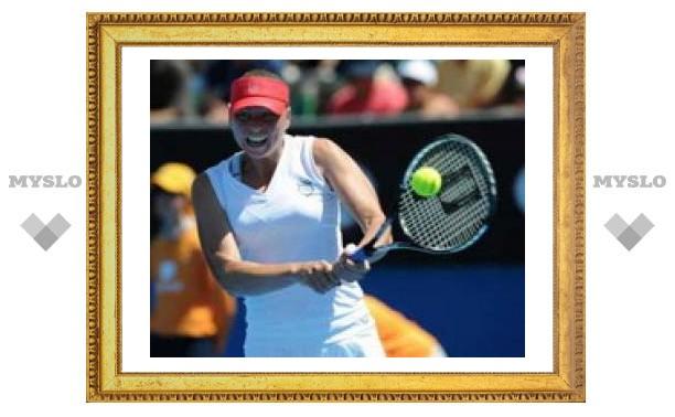 Вера Звонарева выиграла первый матч на Australia Open