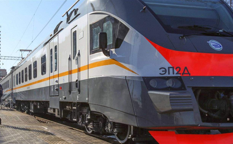 Между Тулой и Москвой начал курсировать железнодорожный экспресс с ретрофотографиями