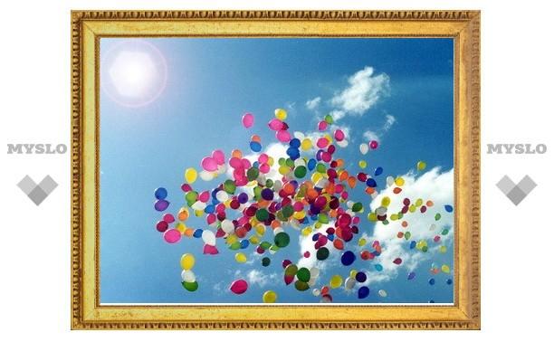 В небо Тулы взмоет тысяча воздушных шаров