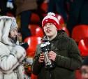 На матче «Арсенал» – «Локомотив» болельщиков угостят кашей