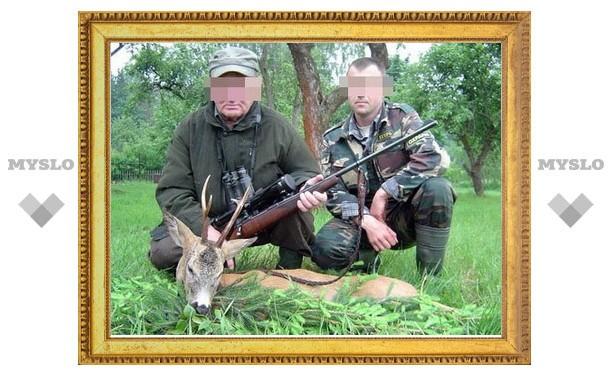 Прокуратура отловила браконьера
