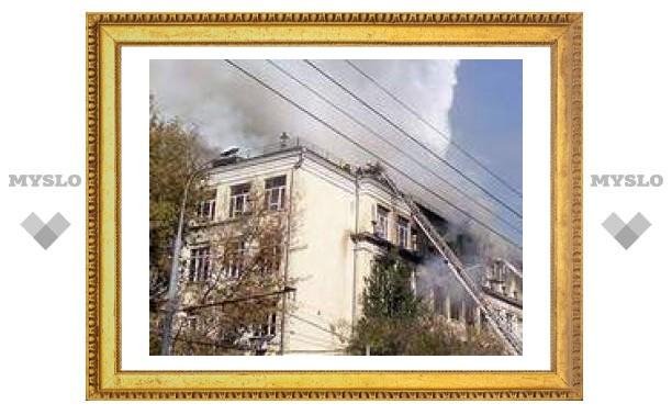 Пропали без вести трое студентов из сгоревшего в Москве института