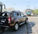 Из-за ДТП на Зеленстрое километровая пробка