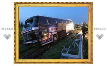 В аварии автобуса в Польше пострадали 23 россиянина