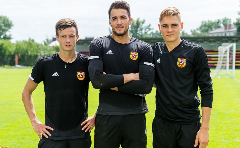 Тульский «Арсенал» подписал трех игроков