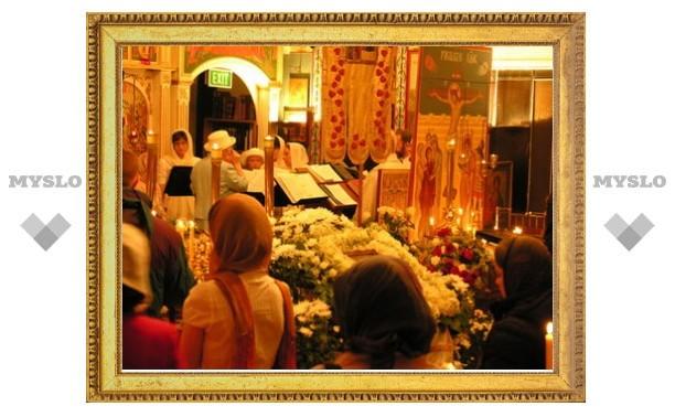 В Тульскую область прибыл ковчег с мощами святой Матроны Московской