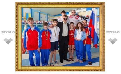 Тульские пловцы покорили мир