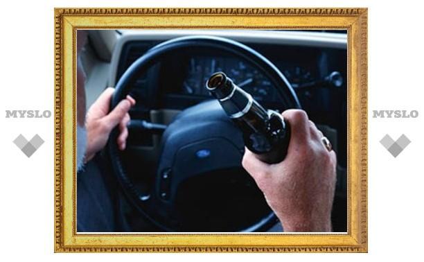 В период с 8 по 13 января в Тульской области задержали 142 пьяных водителя