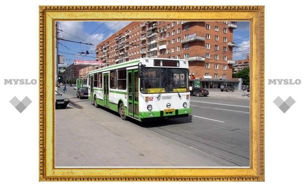 Аварийные работы изменили маршрут тульских автобусов