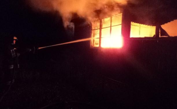 В Алексинском районе при пожаре погиб 52-летний мужчина