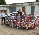 Полицейские провели для юных жителей Новомосковска викторину по ПДД