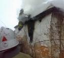 Утром в Белевском районе сгорел жилой дом