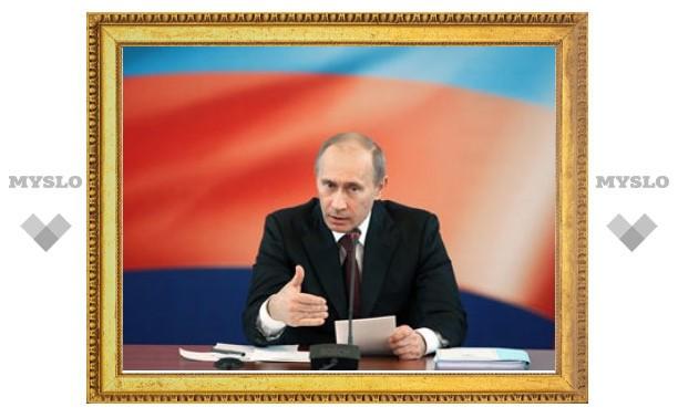 Путин пообещал повысить пенсии на девять процентов