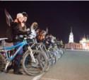 Туляки приняли участие в светящемся велопробеге