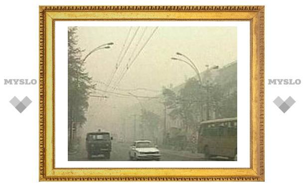 Хабаровск в дыму из-за степных пожаров, сгорели десятки дачных домов