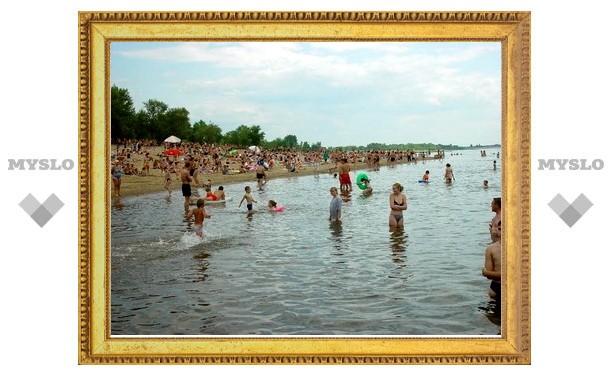 В Туле для купания пригодно только 7 пляжей