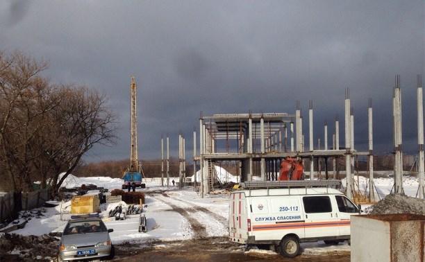 В Туле на рабочих упала бетонная плита, один человек погиб