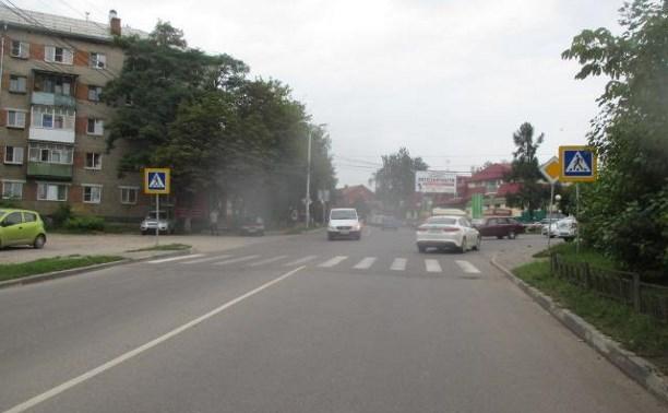 В Туле водитель сбил 24-летнего парня и скрылся с места аварии
