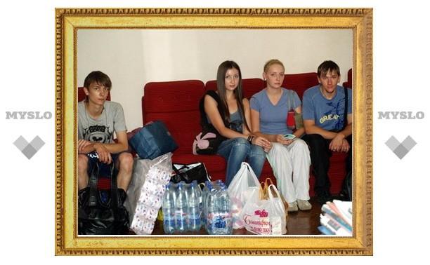 Тульские студенты собирают гуманитарную помощь для Кубани