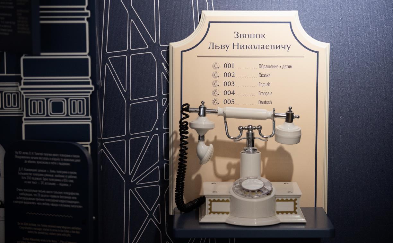В Туле появилось место, откуда можно позвонить Льву Толстому