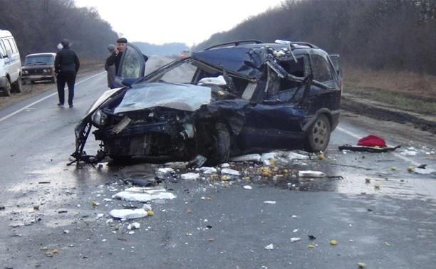 Под Ефремовом насмерть разбился водитель иномарки