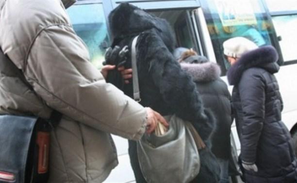 В Туле карманного вора приговорили к 3 годам за кражи у пассажиров маршрутного такси