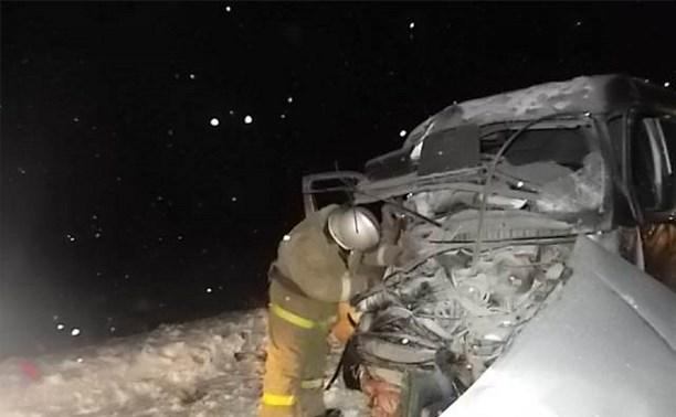 8-летняя девочка погибла в столкновении «Соболя» и «Хёндэ» на дороге «Тула-Новомосковск»