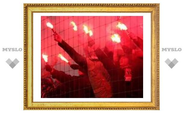 Тульские фанаты будут биться с британскими
