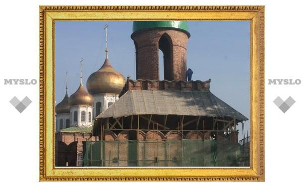 На реставрацию Тульского кремля потратят 500 млн рублей