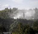Поселок Барсуки засыпало известковой пылью