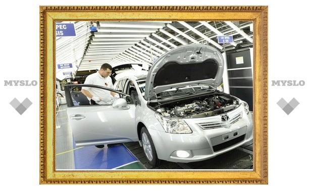 Компания Toyota возобновила производство на всех японских заводах