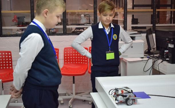 В тульском «Кванториуме» прошла региональная олимпиада для школьников по робототехнике