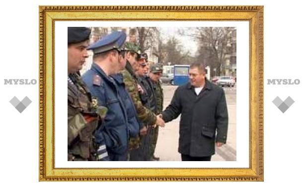Тульские милиционеры будут охранять европейских лидеров