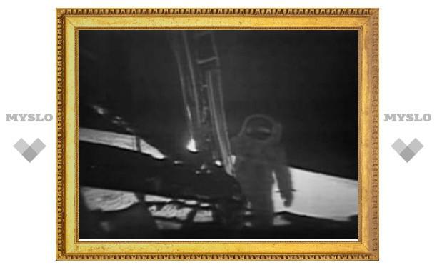 NASA восстановило запись высадки на Луну