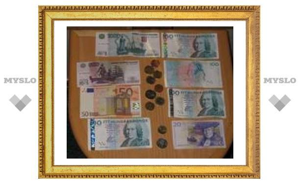 С туляками рассчитываются иностранной валютой