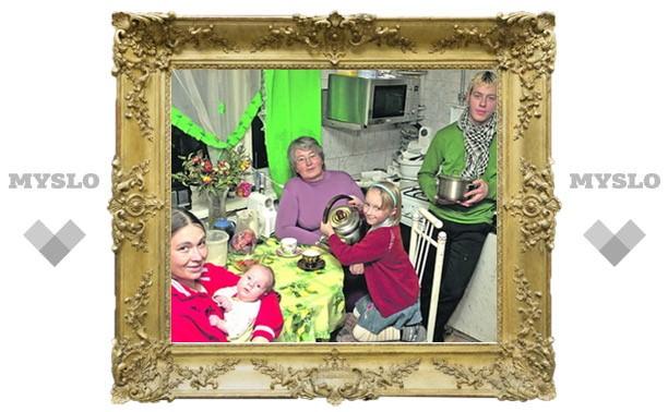 Тулячка Нина Першикова вырастила 32 ребенка